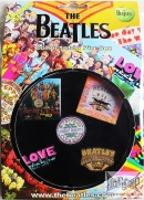 Beatles, The - Collectable Pin Set (5 items) (Official Merchandise) (Металлические Значки)