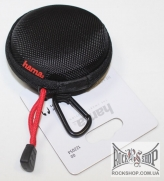 Чехол Для Наушников Hama / Headphone Bag for In-Ear Headphones - Black - Ethylene Vinyl Acetate (EVA)
